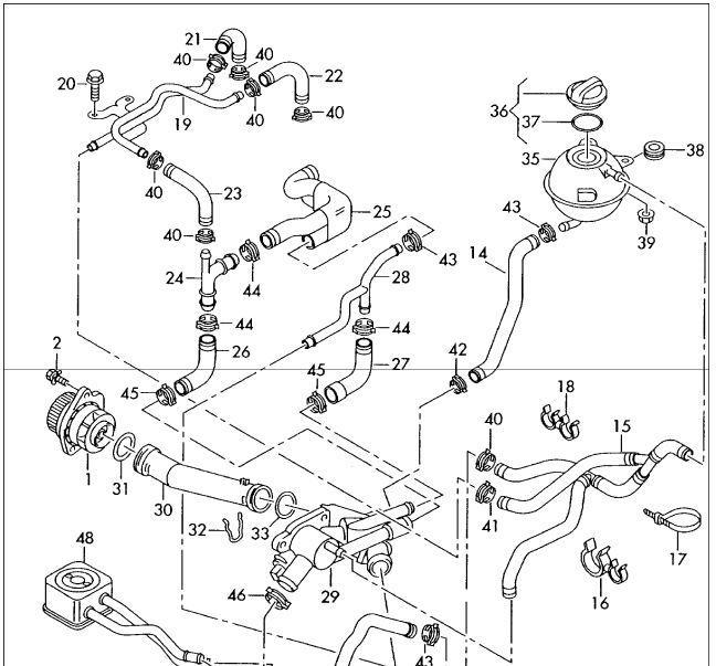 Motortemperatuur normaal ventilator en airco werkend en toch geen verwarming in voertuig - Zits verwarming ...